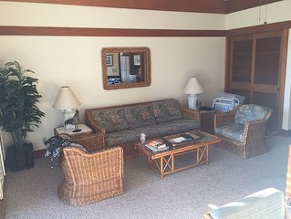 Beautiful One Bedroom, One Bath Second Floor End Unit.