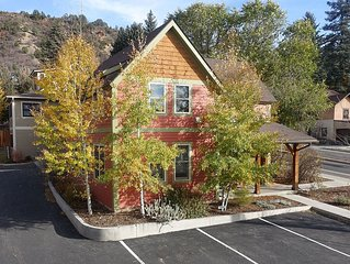 Downtown Durango-New Custom Timber Frame-the Carriage House