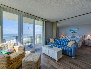New Listing! It's all about the view..Beach Condo with Stunning Direct Gulf View