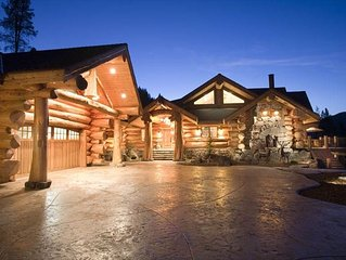 Mt Shasta Majestic Retreat - Luxury Log Home w/Spectacular Mountain & Lake Views