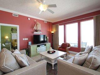 Spacious Third Floor Condo with Private Wraparound Balcony & Free Beach Chairs!
