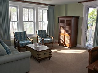 2BR/2BA with 2 Masters* Great View of Bay* Free Tram to Beach &  Free WIFI