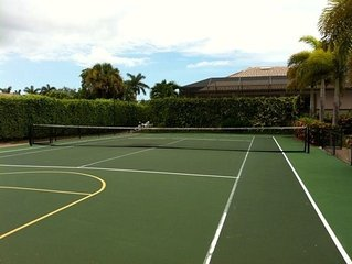 4BR/3BA Near Tigertail Beach,Private Tennis Court, Bocce