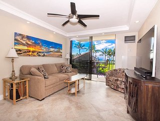 Gorgeous oceanfront, one bedroom, one bath condo, KAUHALE MAKAI, #431, on the b