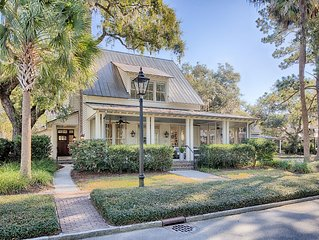 'Pure Perfection'. Exquisite Palmetto Bluff Home in Amazing Village Location!