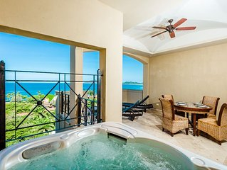 Gorgeous two story 4 bedroom condo with an incredible ocean view