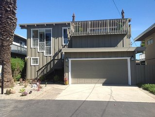 Beautiful Ocean View Home, Walk To Seacliff State Beach And Rio Del Mar Beach