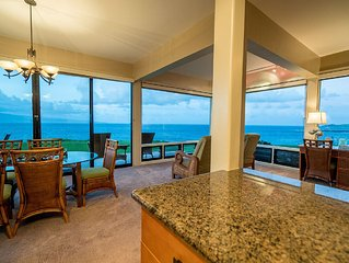 Kapalua Bay Villa Gold Endless Ocean Front 180* Views!