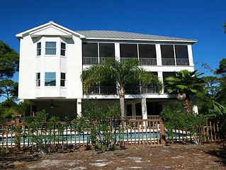 Luxury Home w Elevator, Large Pool, Short Walk to Beach -- 'Prince of Tides'