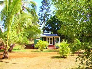 Charming Anahola Cabin ~ Short Walk to Beach