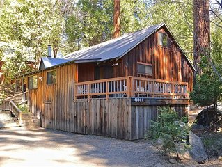 Captains Cove: 4 BR / 1.5 BA  in Shaver Lake, Sleeps 12