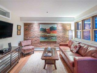 Unique Upscale Downtown Telluride Loft Apartment