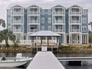 Waterfront, Rivers Edge Condo #1D-Bldg 1 *PRIVATE DOCK and ASSIGNED BOAT SLIP!