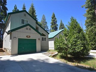 DJK Chalet: 3 BR / 2 BA  in Shaver Lake, Sleeps 8