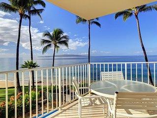 Perfect Oceanfront Location in Kihei! - Starts * $275.00/nt - Kamaole Nalu #305