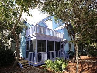 "In Seaside Proper ""Snail's Pace"" 41 Savannah,2 BR/2 BA,Tower"