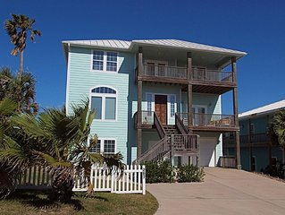 MacBeach House, relax on the 2nd or 3rd deck and watch the waves.  Elevator