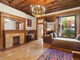 Gorgeous Brownstone at  Lincoln Center, half a block from Central Park
