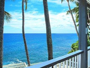 Poipu Palms #203 - OCEAN FRONT VIEWS - Close to Poipu Beach!!