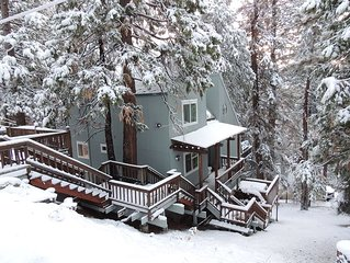 LC's Cabin, 3 Stories of Rest and Relaxation, in Cold Springs next to Pinecrest.