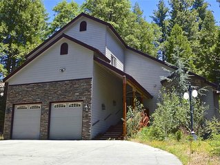 Quality Time: 3 BR / 2.5 BA  in Shaver Lake, Sleeps 6