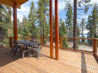 Homewood Lake View 4BR with Sleek Mid-Century Modern Design & Hot Tub!!