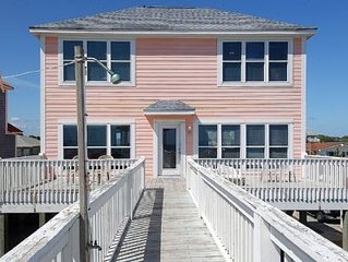 Pier Pressure-Oceanfront Home with Private Pool, 5 Bdrms-3.5 Bath