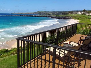 Kapalua Bay Villa Gold 180* Ocean Views! Direct Beach Front Location!