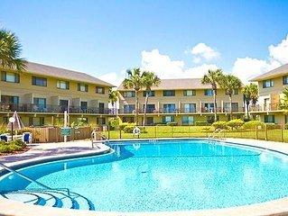 Summerhouse 163, 2 Bedrooms, Ocean Front, 4 Heated Pools, Sleeps 4, WiFi