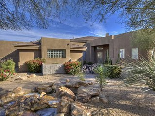 Private Troon North Home Offers Golf, Heated Spa & Relaxation