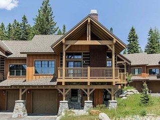 Enticing mountain view, beautiful three bedroom, three and a half bathroom luxu