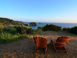 Ocean Views Residence * Whale Rock. Sleeps 6 - Spacious and Upscale