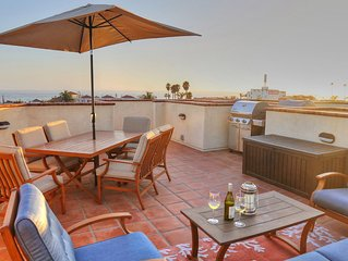BEACH BREAK with Ocean Views, Rooftop BBQ, Garage, Ocean Side Hwy 101