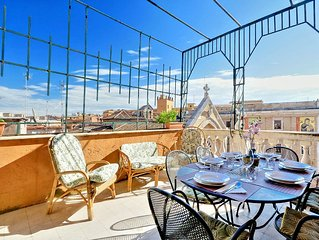 Authentic Roman - Colosseum area, Fabulous Apart, Terrace, Wifi, Aircon