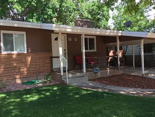 Remodeled in-town beauty with Mountain Views! Large, fully fenced back yard.