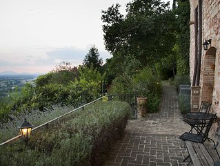 Hilltop Medieval Escape with Panoramic View (Mark Anthony Apartment)
