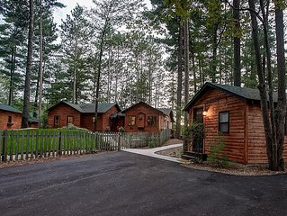 Newly Remodeled Luxury Lakefront Cabin w/ Sandy Beach, Hot Tub, Kayak/SUP, Dock