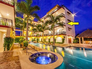 Location & Lavishness Newly Constructed Private Condo, 3rd level over Pool