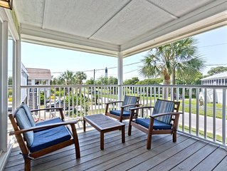 Pet Friendly Home with Fenced in Yard, Just 2 Blocks to Beach - Views of the Ty