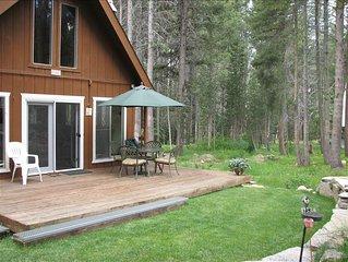 Huntington Lake, Sierra Summit Get-a-Way ! Heated flooring
