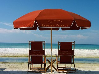 Lazy Days: Gorgeous 2 BR Condo with Gulf Views! Complimentary Beach Service!