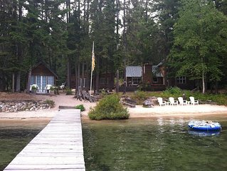 Quaint Family Cabin on Priest Lake