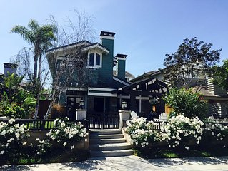 Adorable & Spacious Huntington Beach Craftsman Home