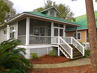 Pristine & Peaceful Golf/Beach Cottage Waiting for You!