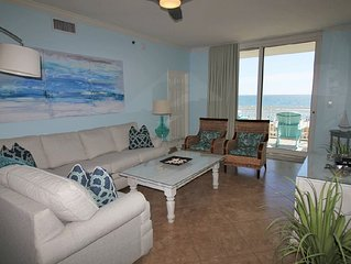 Chic 3BR 3BA Updated Palacio End Unit + Beach Service Included Mar-Oct 2017!