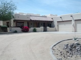 Great Vacation Rental! Custom Santa Fe Home - Large Backyard & Pool