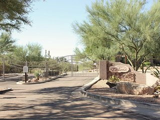 Beautiful Views In This Updated Gold Canyon Townhome Located On Sidewinder GC
