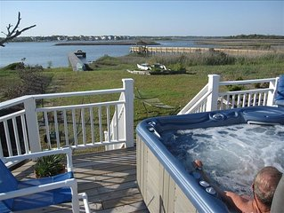 ALL-INCLUSIVE, NO EXTRA CHARGES, KAYAKS, LINENS, CLEANING, HOT TUB