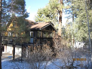 4  Bdroom, 4 Bath Log House w/Mt. Views, Will Rebate Service Fee w/Stay of 3 Day