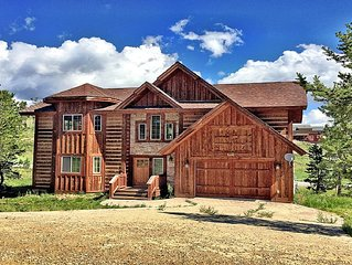 Perfect Mountain Cabin For Families And Large Groups, Close To Town And The Lake
